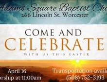 Resurrection Sunday April 16, 2017